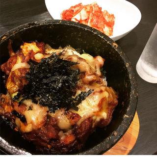 石焼ダッカルビ丼(韓国家庭料理 李家)