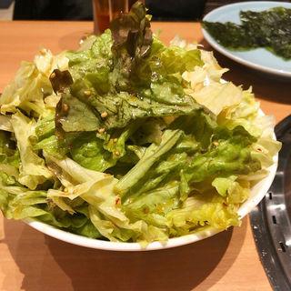 サラダ(やきにく庭園)