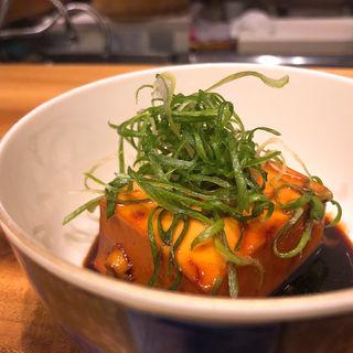 豆腐の煮付け(メデ・イタシ)