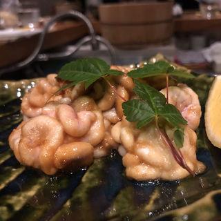 白子のバター焼き(メデ・イタシ)