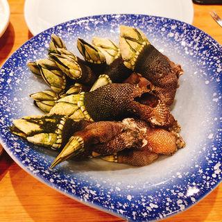 亀の手(つきぢ神楽寿司 屋台店 )