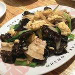 豚肉と木耳の玉子炒め(ムーシーロー)