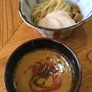 カレー鶏白湯つけ麺 大盛(限定)(麺屋 さん田)