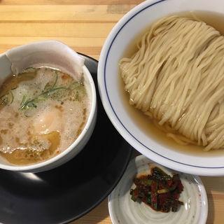 サンマ水つけ麺