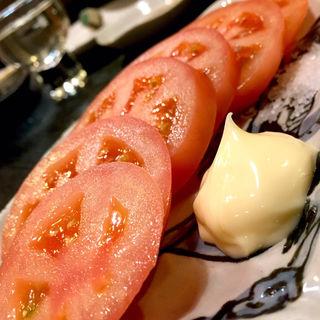 トマトスライス(焼鳥はなび)