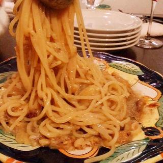 いわしと松の実のスパゲティ(カンティーナ アルコ (cantina arco))