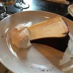 半熟バスクチーズケーキ(ノッツ コーヒー ロースターズ)