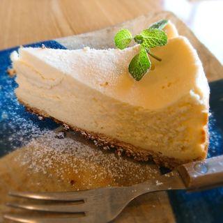 チーズケーキ(海のカフェ高木)