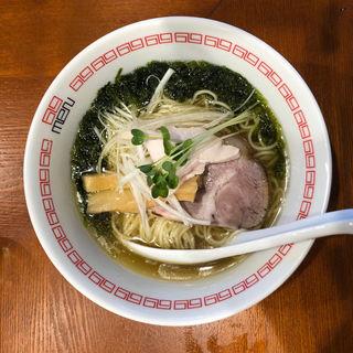 塩らぁ麺(六九麺)