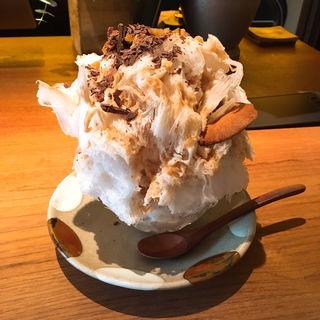 モンブラン氷(祇園NITI (ニチ))