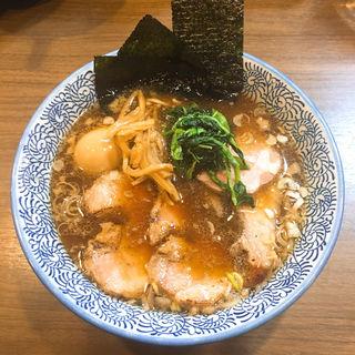 特製生姜醤油ラーメン(煮干しつけ麺 宮元 (みやもと))