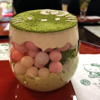 はろうきてぃ抹茶サンディ(はろうきてぃ茶寮  )
