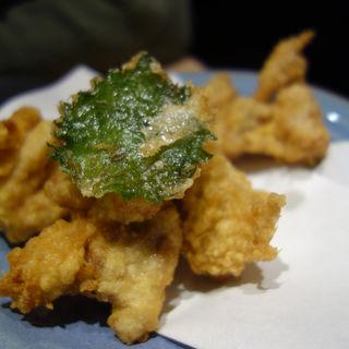 鶏の天ぷら(はかた天乃(あまの) KITTE博多店)