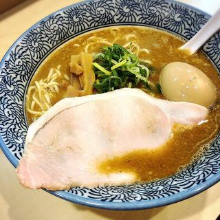 期間限定 魚介とんこつ味噌ラーメン