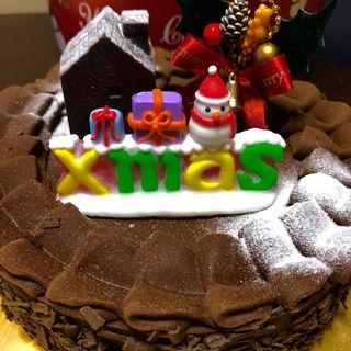 チョコレートクリスマスケーキ(シベール・ファクトリー・メゾン (CYBELE))
