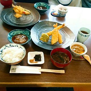 天ぷら定食(天ぷら えがしら)