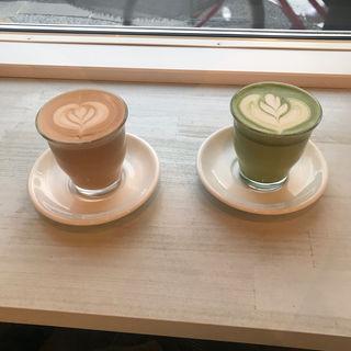 抹茶ラテ(Good up Coffee)