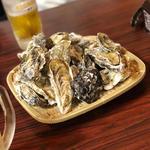 焼き牡蠣(大衆酒場えびす)