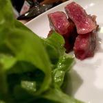 伊万里牛のステーキ