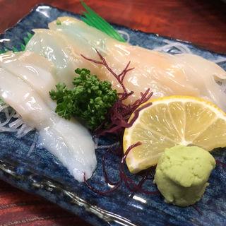 つぶ貝刺身(大衆割烹 寿久酒造)
