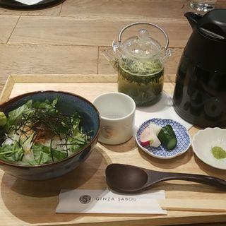 お茶漬け(サロン ギンザ サボウ (SALON GINZA SABOU))