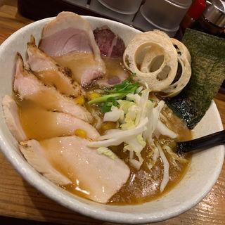 鯛煮干し塩らーめん 肉増し(らーめん専門 和海 (なごみ))