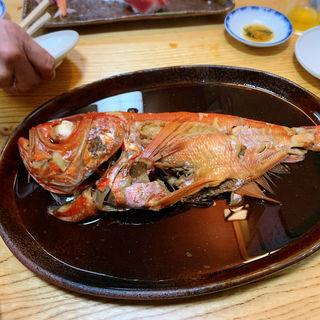 金目鯛の煮付け(淡島寿司 )