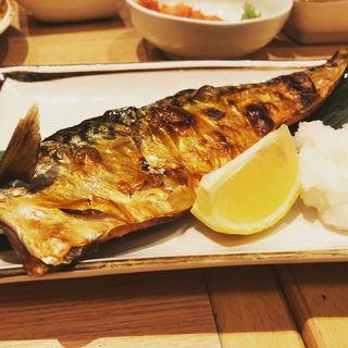 サバの塩焼き(めしや多幸橋本店 )