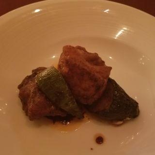 鶏もも肉の中国味噌炒め(コース)(ジョーズ シャンハイ ニューヨーク 銀座店)