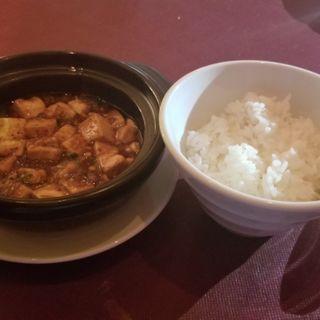 麻婆豆腐(コース)(ジョーズ シャンハイ ニューヨーク 銀座店)