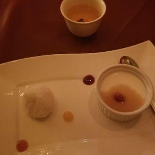 本日の特選デザート2種盛り合わせ(コース)(ジョーズ シャンハイ ニューヨーク 銀座店)
