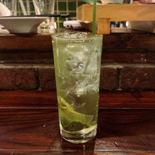 コウバシ緑茶割(いが嵐倉庫 )