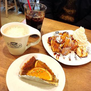 紅茶のタルト(ハミングカフェ バイ プレミーコロミィ ecute上野店 (Humming Cafe By Plame Collome))