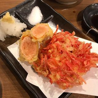 紅生姜のかき揚げ(魚の四文屋 高円寺店 )