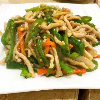 青椒肉絲(火枫源)