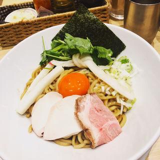 濃厚卵のまぜSOBA(むぎとオリーブ 日本橋店)