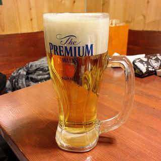 生ビール(鍋焼ぼうず)