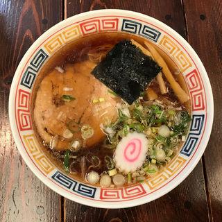 正油ラーメン(秀航園 本店 (しゅうこうえん))
