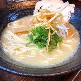 鷄白ラーメン(麺処むらじ室町店)
