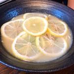 檸檬ラーメン(麺処むらじ室町店)