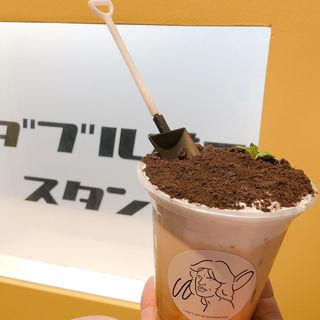 植木鉢ラテ(W/O STAND SHINSAIBASHI ダブルオースタンド)