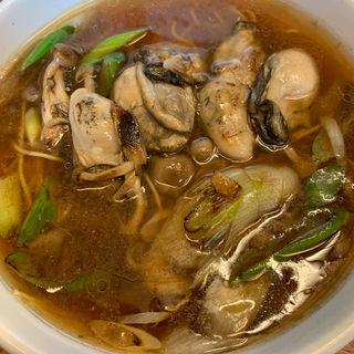 季節限定牡蠣ラーメンセット(中華料理 鉄人 )