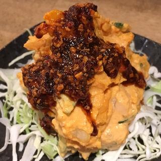 赤いポテサラ(煮込みと炙り焼き 大太郎(煮込み大衆酒場 大太郎))