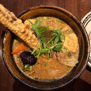 超粗挽きラムと青山さんちのよせ豆腐のカリー(ソウルストア (SOUL STORE))