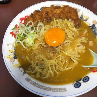 カツカレーラーメン(らー麺や (麺や))