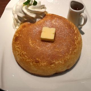 石窯焼きホットケーキ(石釜bake bread 茶房 TAM TAM)