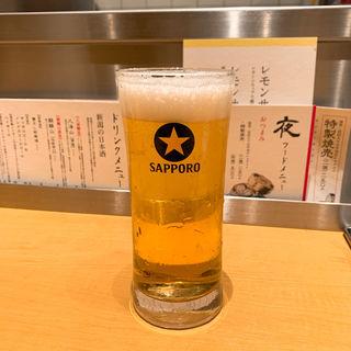 サッポロ生ビール(新潟 三宝亭 東京ラボ 宮益坂店)