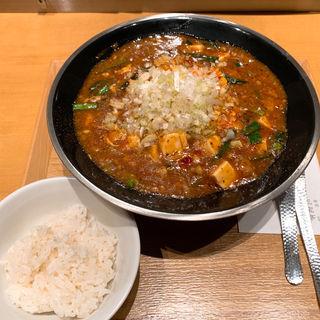 全とろ麻婆麺(新潟 三宝亭 東京ラボ 宮益坂店)