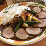 野菜カレー+チャーシュー 2L(クミン )