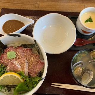 ぶりトロ定食(海鮮丼 日の出)